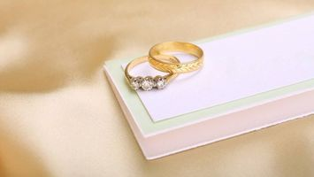 Фото бесплатно кольца, свадьба, коробка