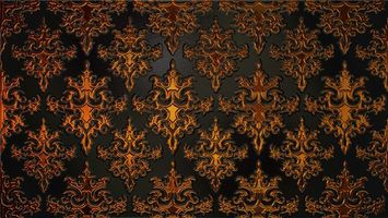 Photo free ornament, patterns, texture