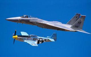 Фото бесплатно самолеты, истребители, винтовой