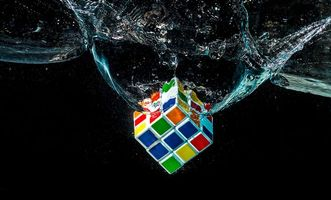 Фото кубика Рубика · бесплатное фото