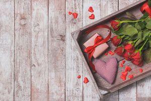 Фото бесплатно Романтический день, розы, роза