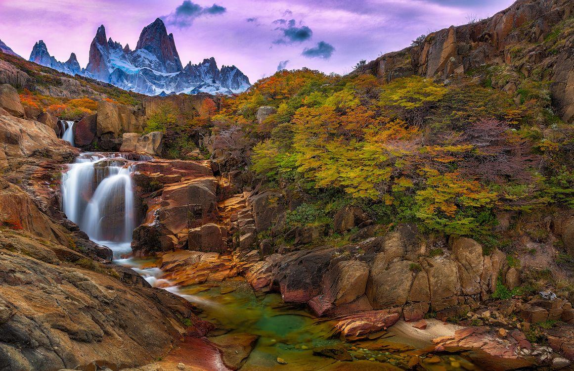 Photos for free Los Glaciares, Patagonia, Argentina - to the desktop