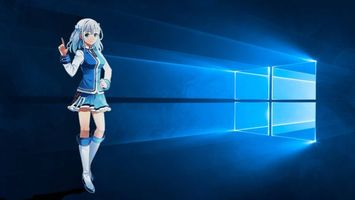 Screensaver windows 10 anime