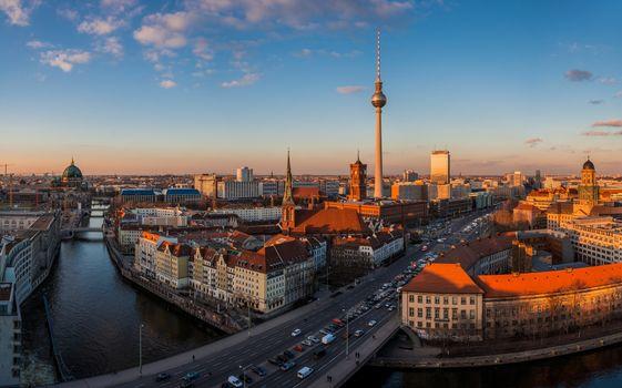 Скачать панорама, германия картинку