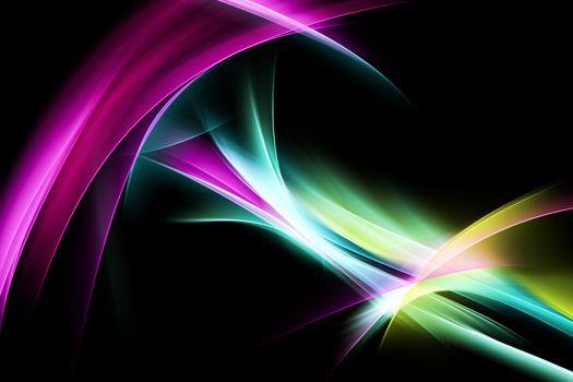 Красивые сплетенные линии