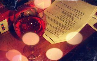 Фото бесплатно стол, бокал, вино