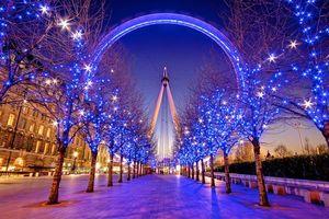 Бесплатные фото Великобритания,London,South Bank,Зима,Лондон,Англия