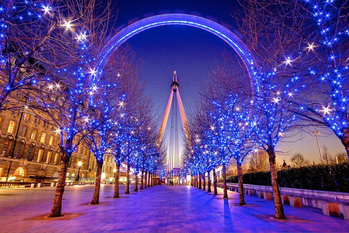 Фото бесплатно Великобритания, London, South Bank, Зима, Лондон, Англия, город