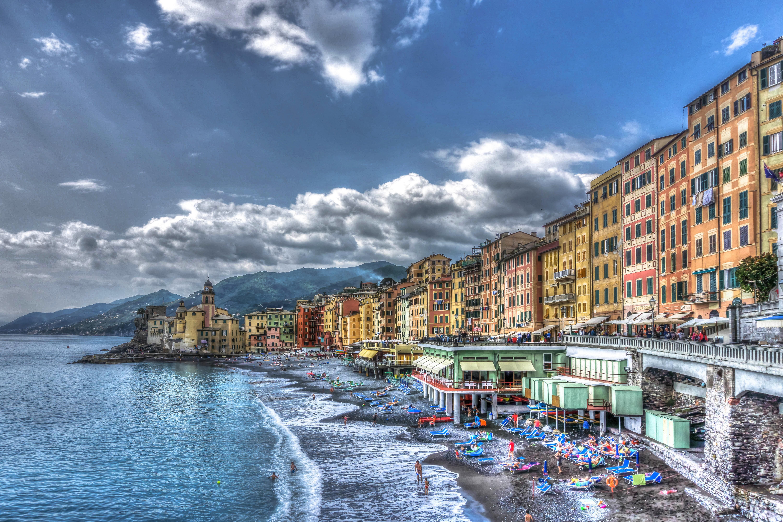 италия пляжи обои на рабочий стол № 507063 без смс