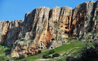 Бесплатные фото горы,скалы,камни,трава,кустарник,небо