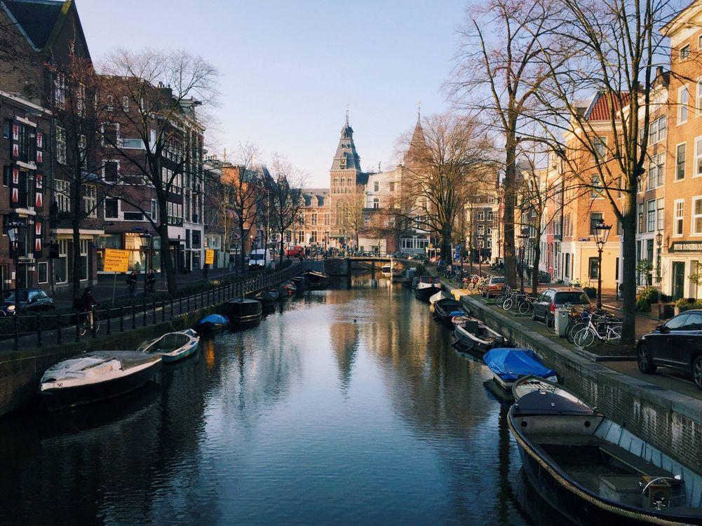 Скачать заставку амстердам, амстердам