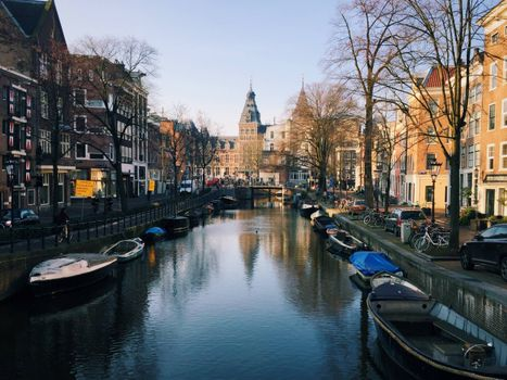 Photo free the capital and the largest city of the Netherlands, Netherlands, Holland