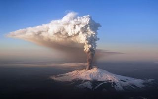 Photo free eruption, volcano, ash