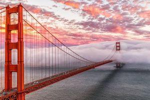 Фото бесплатно мост, золотые ворота, Сан-Франциско