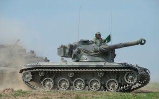 Фото бесплатно танки, башня, солдат