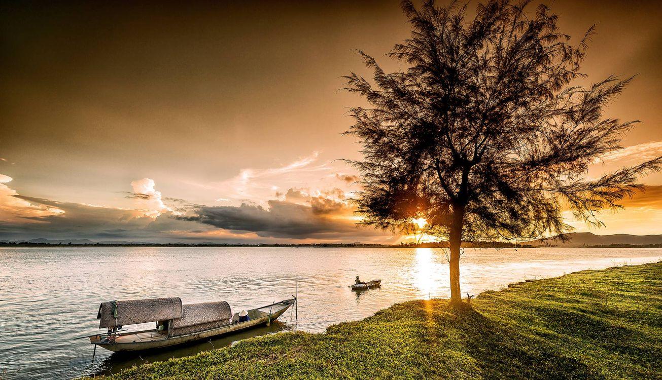 Фото бесплатно Вьетнам, лодка, винь - на рабочий стол