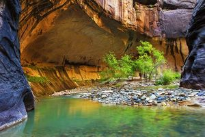 Photo free Virgin River, Utah, rocks
