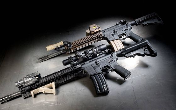 Фото бесплатно bcm, винтовка, m4, штурмовик