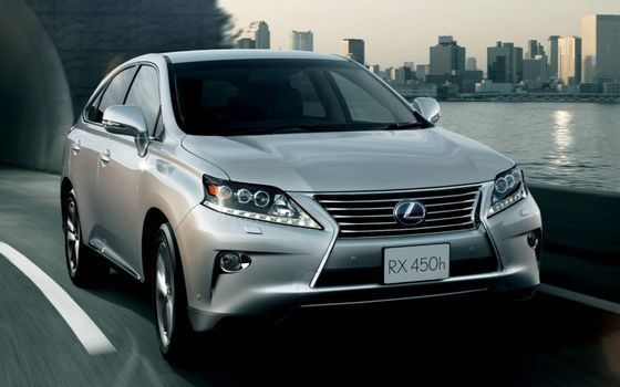 Photo free Lexus, crossover, silver