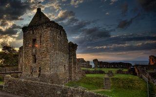 Photo free ruins, ancient buildings, weathervane