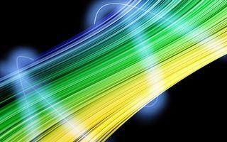 Бесплатные фото линии,полосы,волны,цветные,светятся,фон,черный