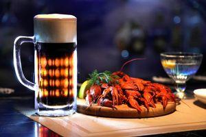 Бесплатные фото кружка,пиво,напиток,раки,продукты