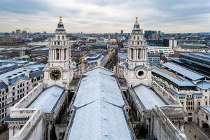 Photo free A view of the city of London from St Pauls Cathedral, St Paul s Cathedral, London