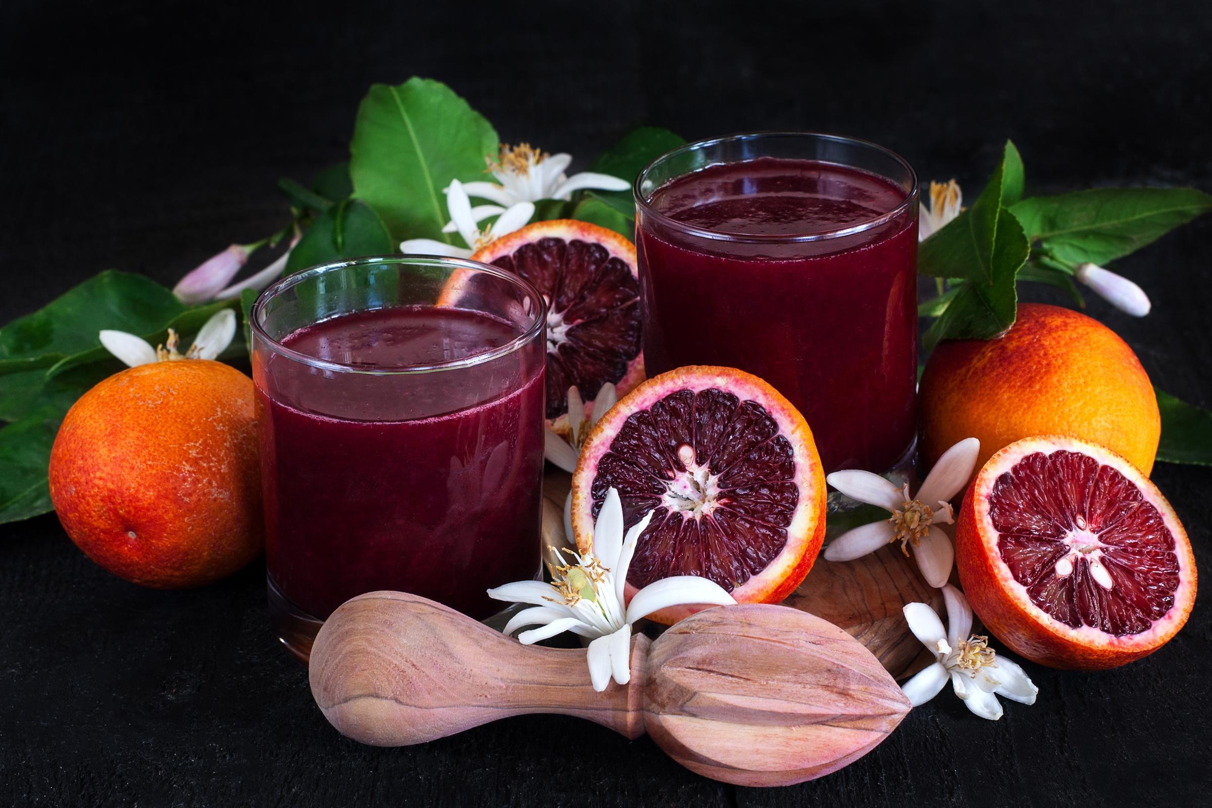 Обои апельсин, напиток, сок