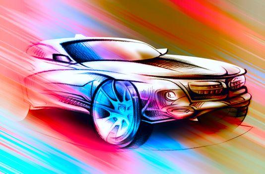 Photo free car, wheels, abstraction