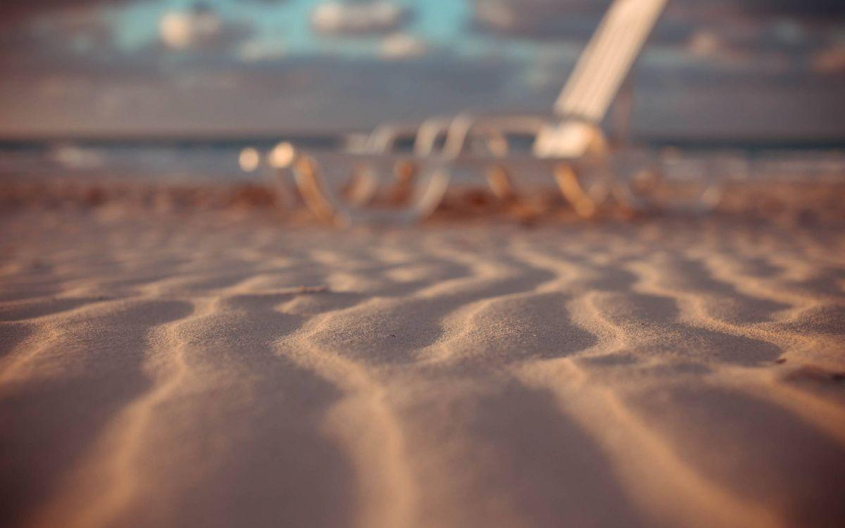 Картинка пляж, песок на рабочий стол. Скачать фото обои макро