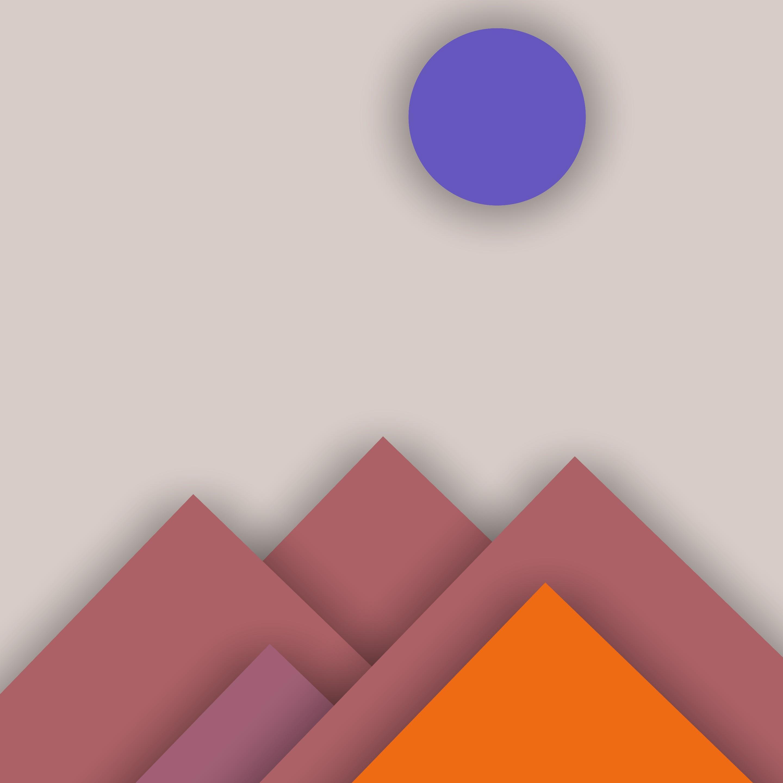 материальный дизайн горы коричнево-серый  № 3216613 без смс
