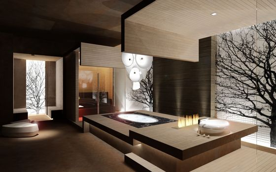 Фото бесплатно ванная комната, дизайн, стекло