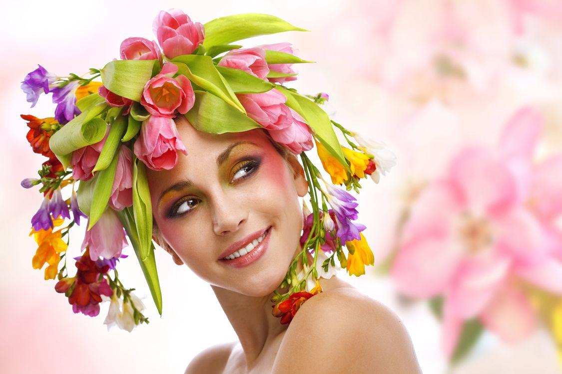 Free photo girl, beauty, smile - to desktop