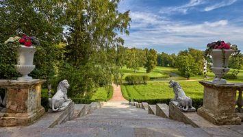 Заставки Санкт-Петербург, Павловский парк, Россия