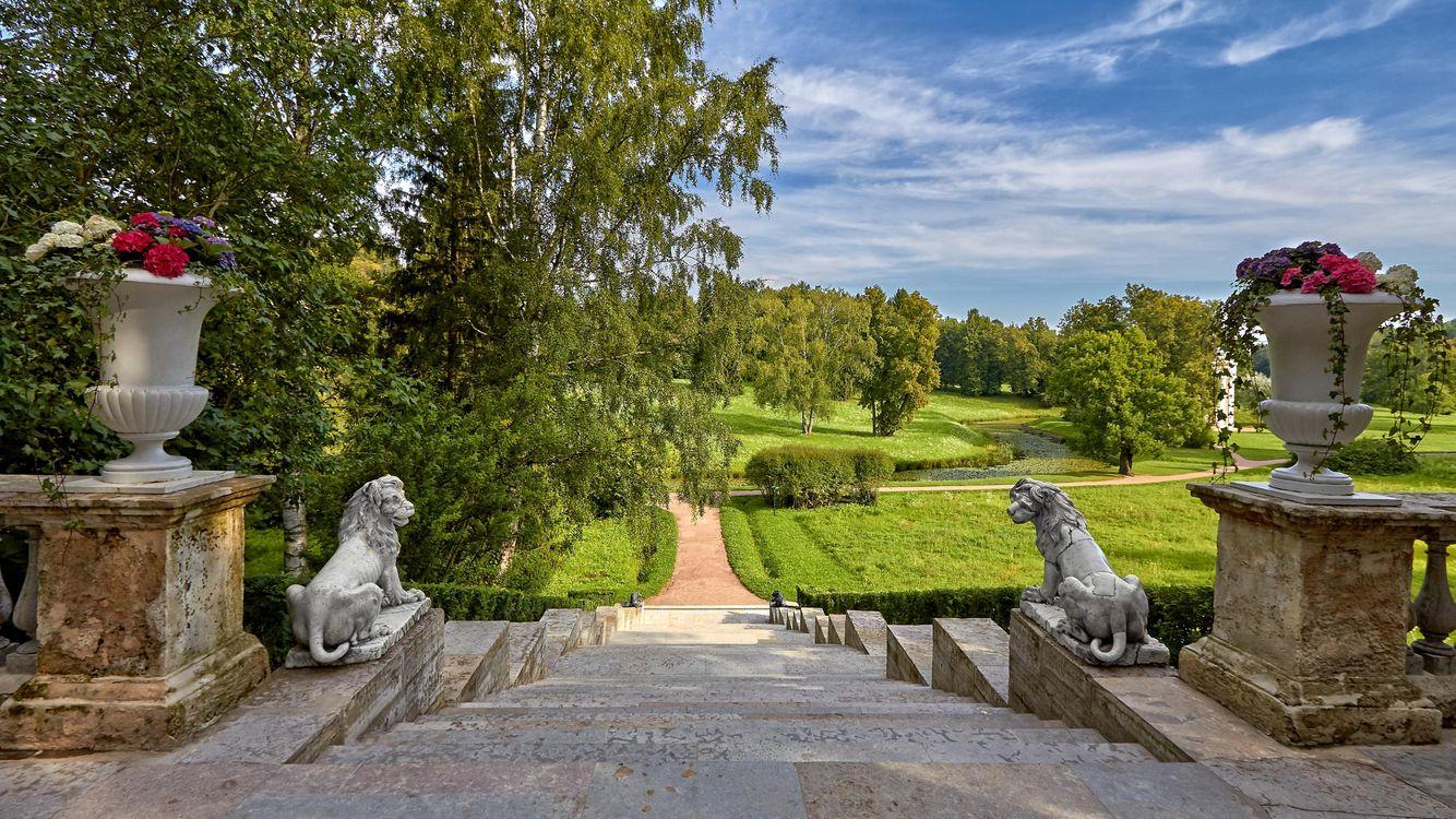 Фото бесплатно Санкт-Петербург, Павловский парк, Россия, пейзажи