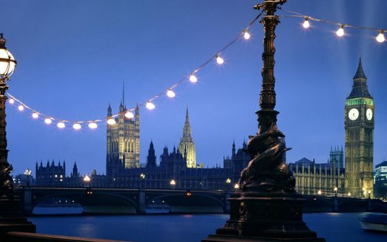 Фото бесплатно вечер, Лондон, Биг-Бен