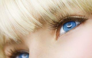 Фото бесплатно слушай, синий, блондинка