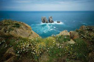 Фото бесплатно море, берег, скалы