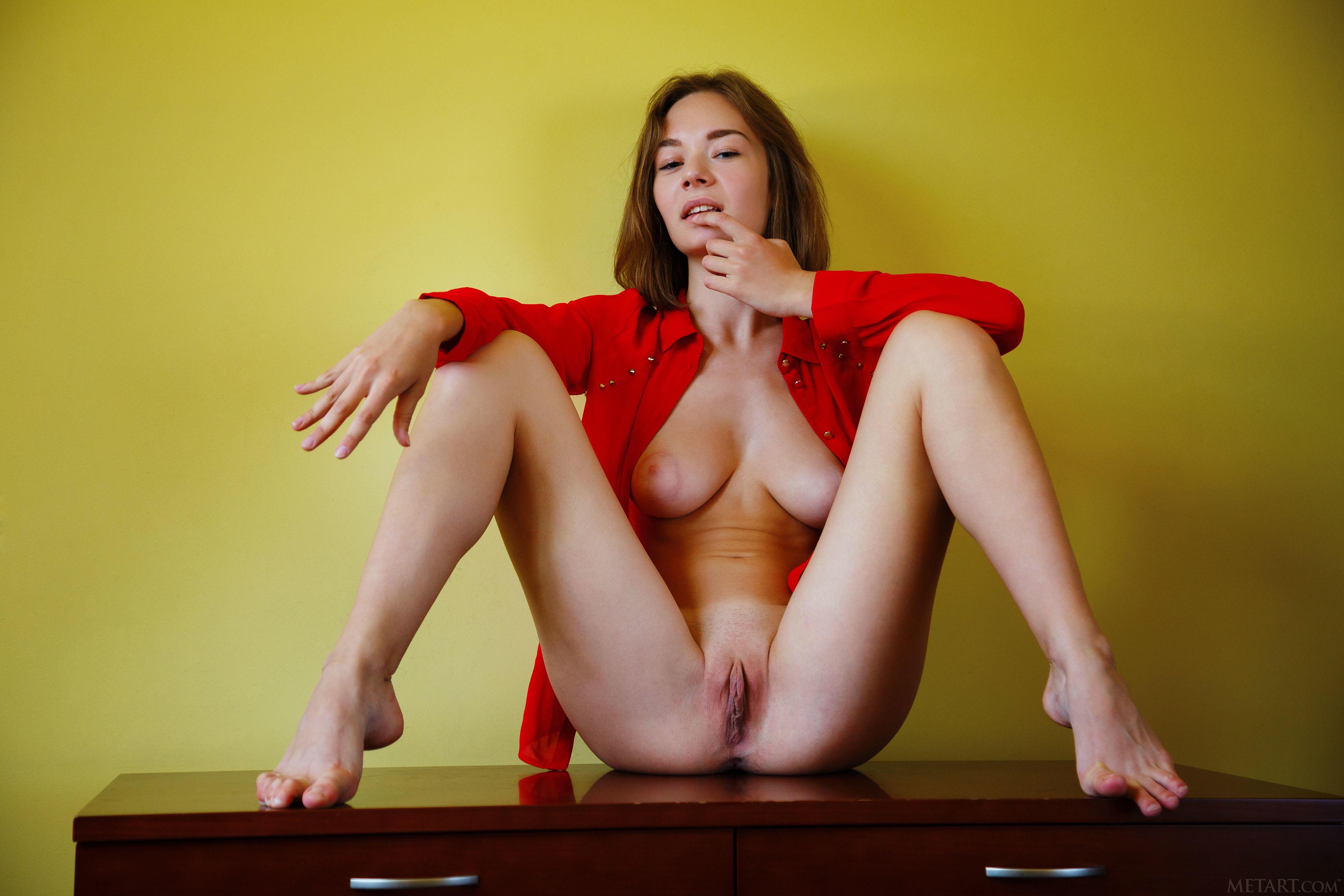 обои Selina, красотка, голая, голая девушка картинки фото