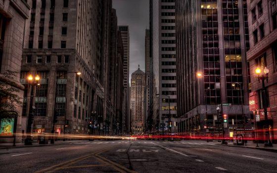 Заставки улица, вечер, огни