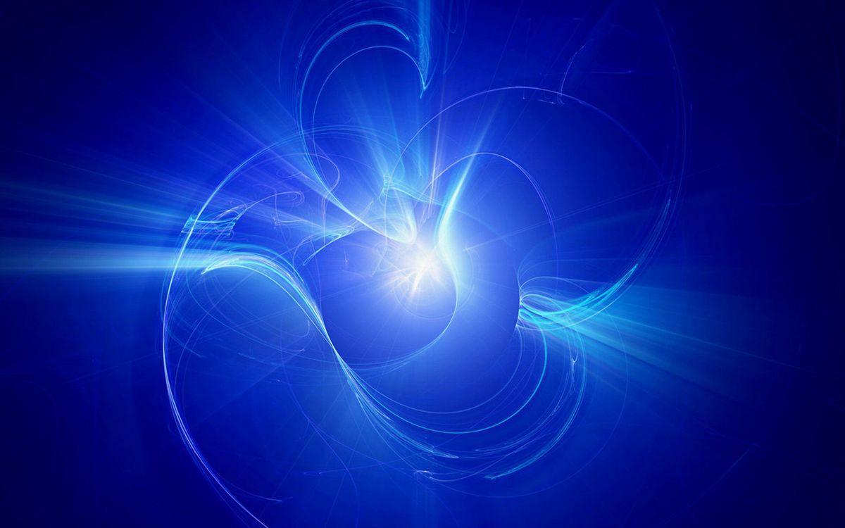 Фото бесплатно заставка, синяя, полосы - на рабочий стол