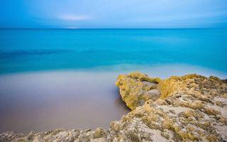 Бесплатные фото берег,песок,камни,море,горизонт,небо
