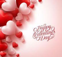 день святого валентина, день влюбленных, с днём святого валентина, с днём всех влюблённых, романтические сердца