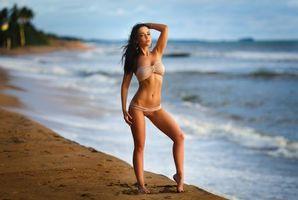 Фото бесплатно девушка, модель, Ангелина Петрова fonwall ру