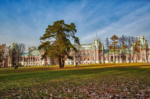 Фото бесплатно Дворец Екатерины, Москва, Россия
