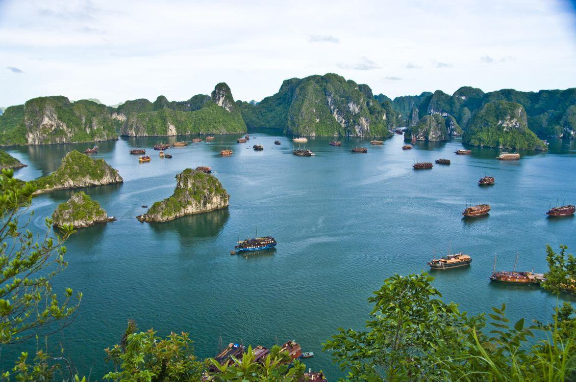 Обои корабли, острова, море картинки на телефон