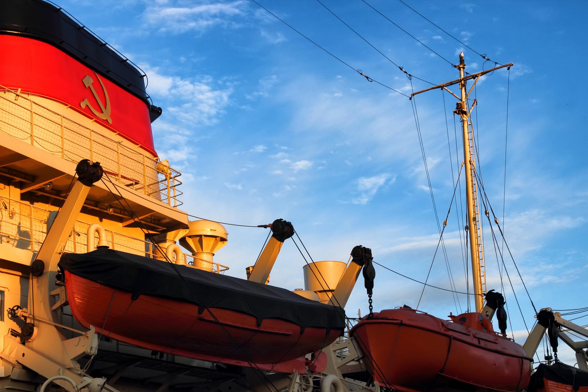 обои ледокол, Красин, Святогор, корабль картинки фото