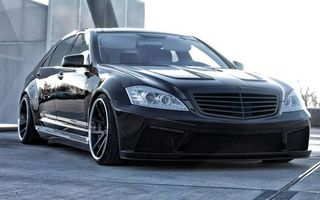 Photo free Mercedes, black, mirrors