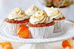 Бесплатные фото кексы,курага,крем,выпечка,десерт