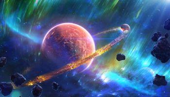 Фото бесплатно космос, вселенная, планеты